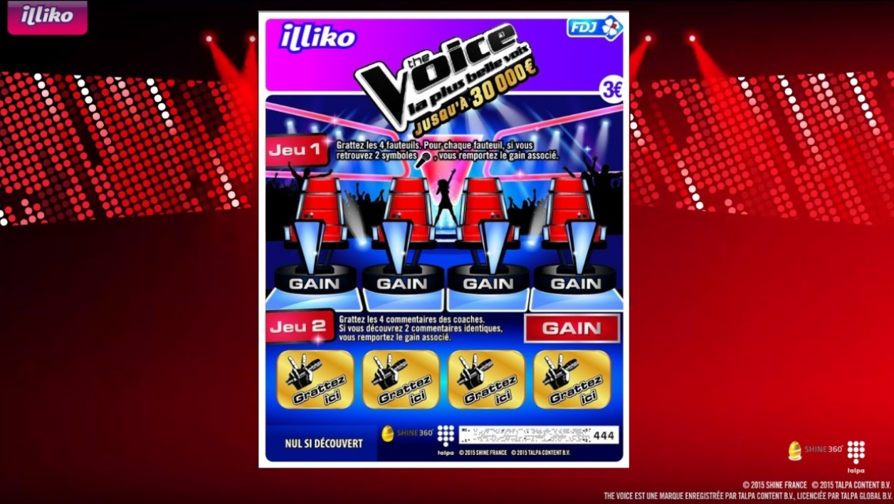 the voice ticket a gratter